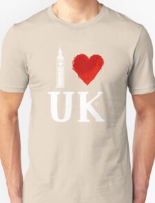 I Heart UK (remix) T-Shirt
