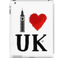 I Heart UK (remix) iPad Case/Skin