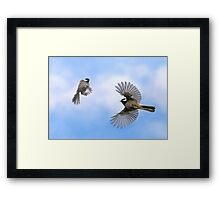 Fly Away With Me - Challenge Winner Framed Print