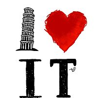 I Heart Italy (remix) Photographic Print