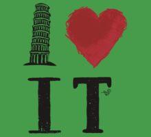 I Heart Italy (remix) Kids Clothes
