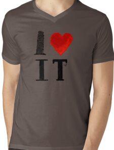 I Heart Italy (remix) Mens V-Neck T-Shirt