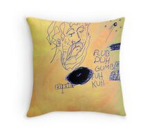 Monk Throw Pillow