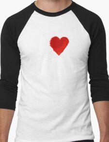 I Heart Italy (remix) Men's Baseball ¾ T-Shirt