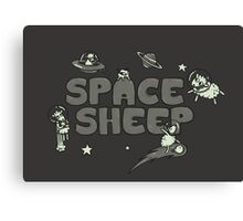 Space Sheep Canvas Print