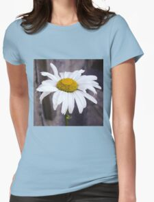 Big Chamomile Womens Fitted T-Shirt