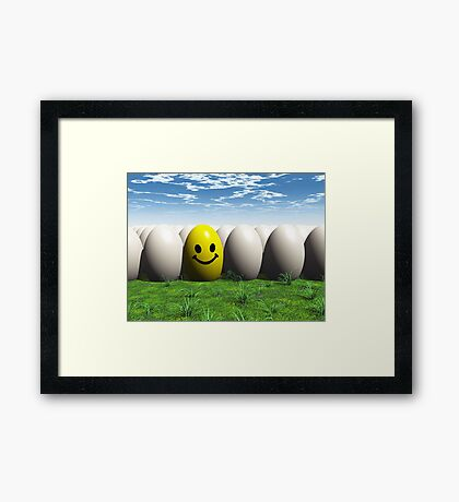 One In Every Bunch Framed Print