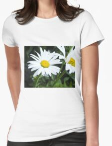 Big Chamomile 2 Womens Fitted T-Shirt