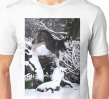 As the Wolf in Winter .... Unisex T-Shirt
