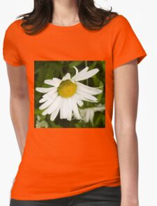 Big Chamomile 4 Womens Fitted T-Shirt