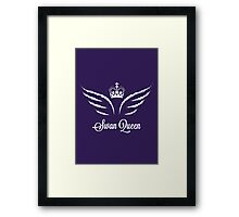 Once Upon a Time - Swan Queen Framed Print
