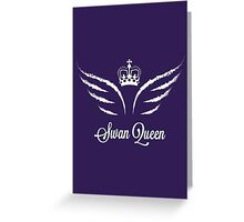 Once Upon a Time - Swan Queen Greeting Card