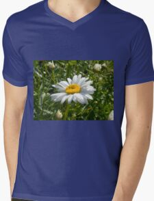 Big Chamomile 5 Mens V-Neck T-Shirt