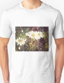Big Chamomile Retro effect 3 Unisex T-Shirt