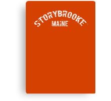 Once Upon a Time - Storybrooke, Maine Canvas Print