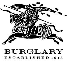 BURGLARY: EST. 1913 Photographic Print