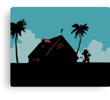 Kame House Canvas Print