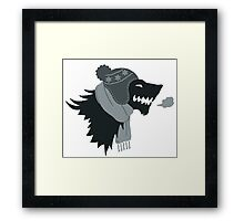 Winter is Coming! Framed Print