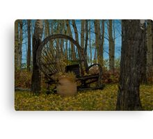 Willow Bench Lake Canvas Print