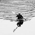 Kayaker by David Friederich
