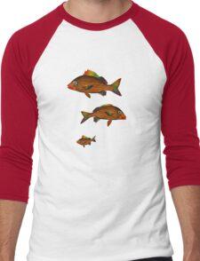 GRUNT Men's Baseball ¾ T-Shirt