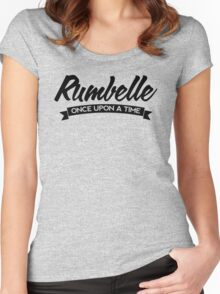 Once Upon a Time - Rumbelle - Dark Women's Fitted Scoop T-Shirt