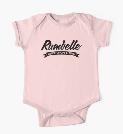 Once Upon a Time - Rumbelle - Dark One Piece - Short Sleeve