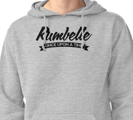 Once Upon a Time - Rumbelle - Dark Pullover Hoodie