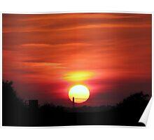 Sunset 2 27-09-08 Poster