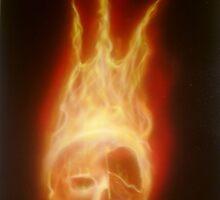 True Fire Skull by Chris Kerry