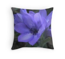 Blue Is The Colour Of Love Throw Pillow