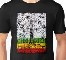 Rasta Tree Unisex T-Shirt