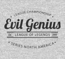 Vintage Evil Genius T-Shirt