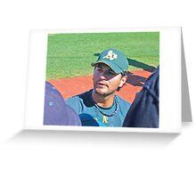 Eric Chavez Greeting Card