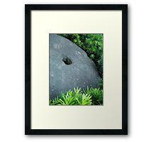 StoneWheel Framed Print