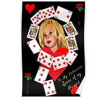 ✿♥‿♥✿   Queen of Hearts Valentine ✿♥‿♥✿    Poster