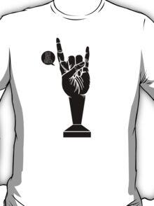 All Black Rock 'n Roll Barista T-Shirt