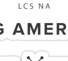Vintage CLG America Dark Sticker