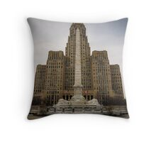 Niagara Square Throw Pillow