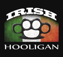 irish hooligan flag brass knuckles by hottehue