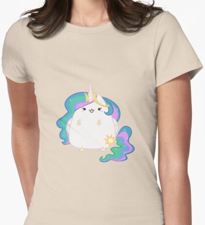 Celestia kitty Womens Fitted T-Shirt