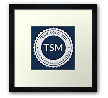 Vintage TSM Boyscout Badge Framed Print