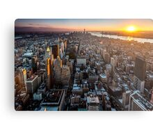 New York - Manhattan skyline Metal Print