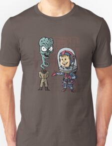 SpaceKid and General TangyRelish of the Neckadon Army T-Shirt