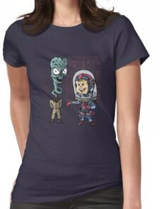 SpaceKid and General TangyRelish of the Neckadon Army Womens Fitted T-Shirt