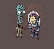 SpaceKid and General TangyRelish of the Neckadon Army Unisex T-Shirt