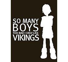 HTTYD - Viking (White Print) Photographic Print