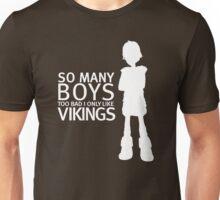 HTTYD - Viking (White Print) Unisex T-Shirt