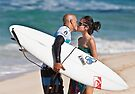 Kelly Slater and Kalani Miller by Alex Preiss