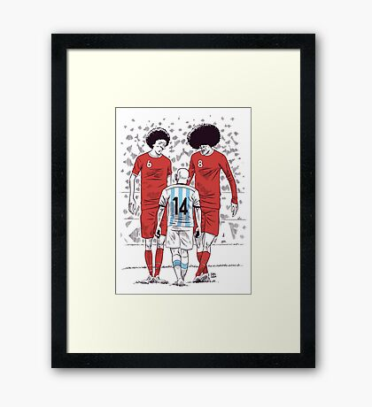 World Cup Framed Print
